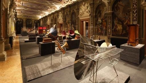 Art or Sound, Fondazione Prada, Ca' Corner della Regina, Venezia (veduta della mostra)