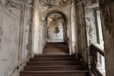 Palazzo Costantino, la scalinata