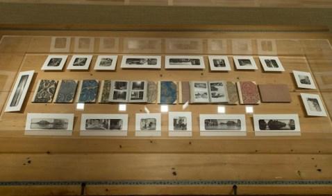 Sguardi incrociati a Venezia, Jirô Taniguchi Mariano Fortuny, Espace Louis Vuitton, Venezia, veduta della mostra (1)