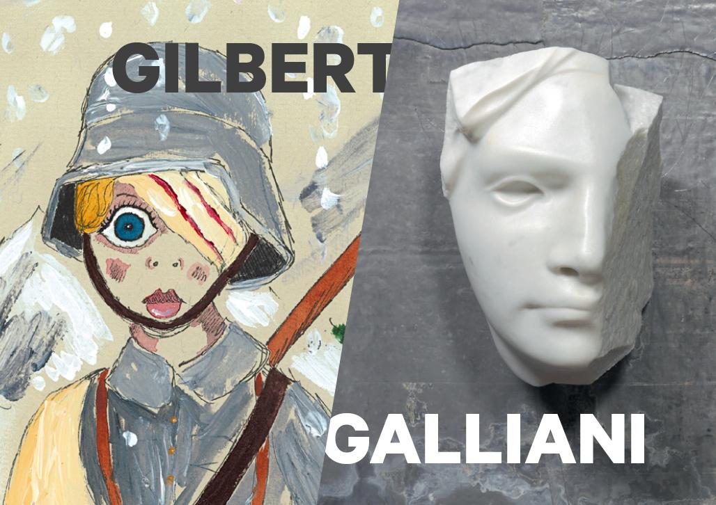 Michelangelo Galliani – Andrew Gilbert. Forte comune 1914/2014, Forte Strino, Vermiglio (TN) (particolare dell'invito)