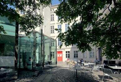 KW Institute for Contemporary Art, Berlin Courtyard Photo Fette Sans, 2011