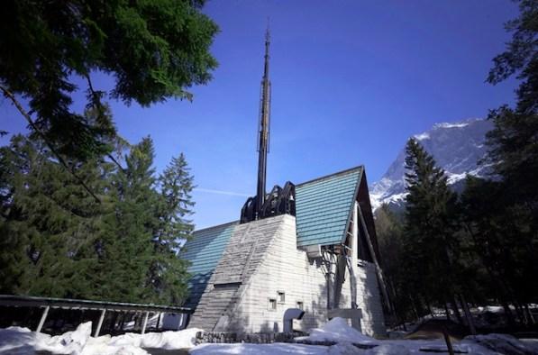 Borca, la Chiesa di Scarpa e Gellner_Foto Giacomo De Donà