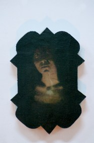 Filippo Sciascia, Antara Sinar Media, Oil on Canvas Mounted on Wood, 41 x 30 cm, 2014