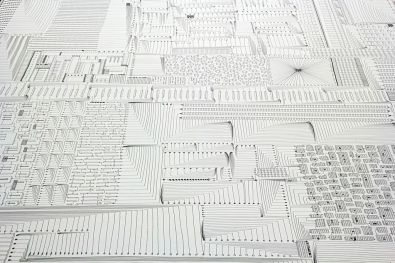 Caterina Rossato, Mind Map, 2014, pen on paper, 10x1.5 m, 1 year (detail)