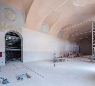 Foto del cantiere, Museo Egizio, Torino Foto Pino dell'Aquila