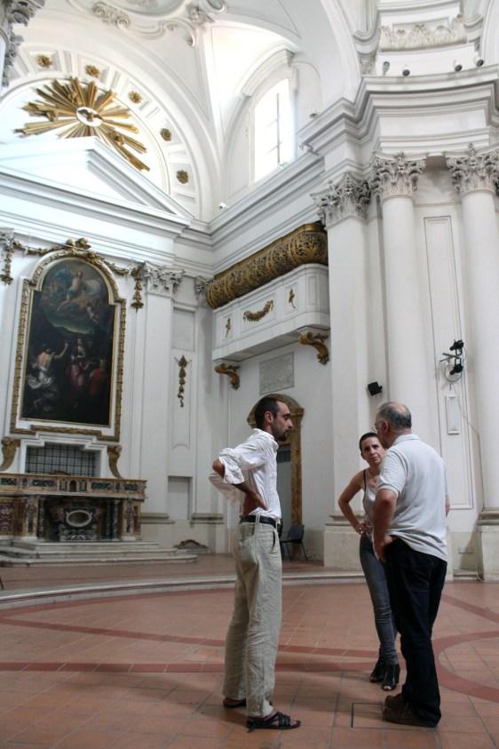 Studio dell'architettura della Chiesa della Maddalena