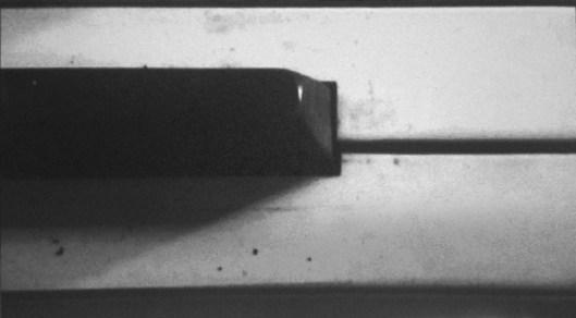 Davide La Rocca, Il tasto nero, olio su tela,cm140x250,2014