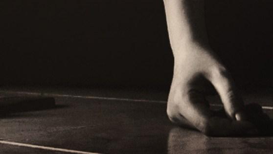 Davide La Rocca, Mano, olio su tela,cm80x140,2013