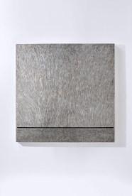 "Gerald Moroder, ""senza titolo"", sculptor , impasto di porfido"