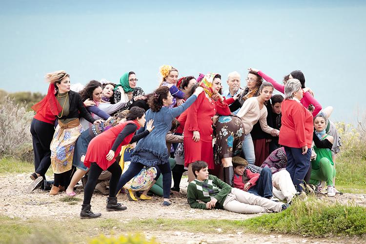 """Marinella Senatore, The School of Narrative Dance, """"Piccolo Caos"""", Cagliari 2013, Prodotto dai Musei Civici e Comune di Cagliari"""