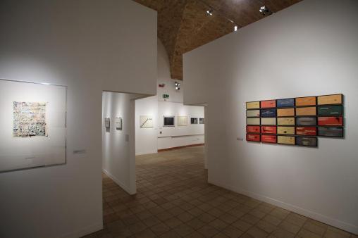 FAM Fabbriche Chiaramontane, allestimento mostra Sulla Parola Foto Pitrone