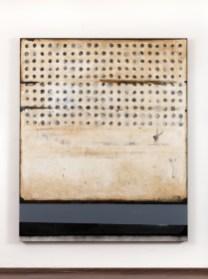 Mirko Baricchi, Germogli, tecnica mista su tela, cm 180 x 150, dalla mostra Circus#1 2013 Courtesy Galleria Il Vicolo