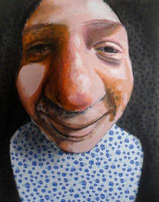 Maurizio Cariati, Pigiama party! acrilico su tessuto estroflesso, 25x20x9 cm, 2014