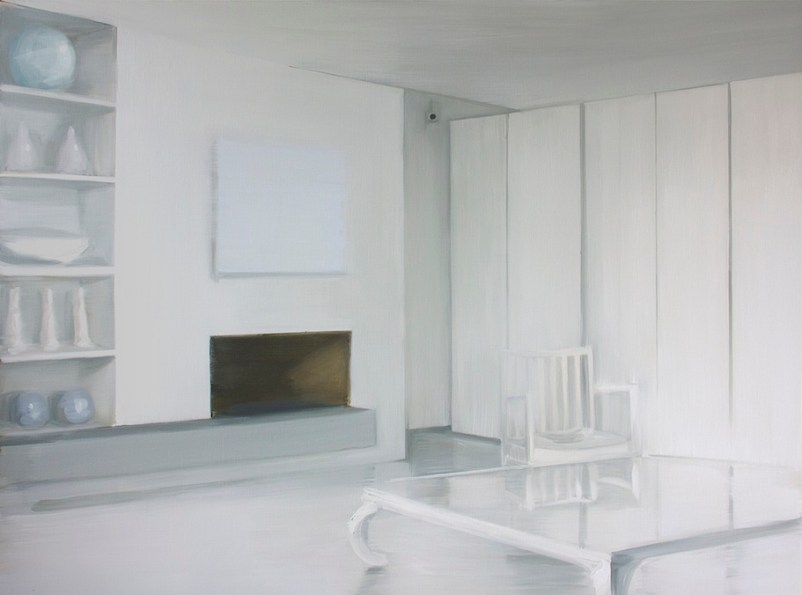 Caroline Walker, Observation, 2014, oil on linen, 160x215 cm Courtesy ProjectB, Milano