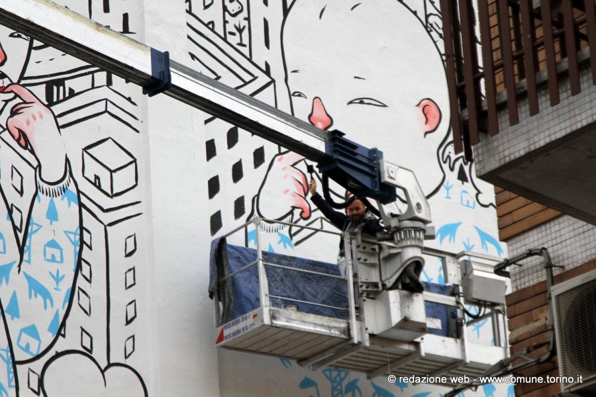 B.ART Arte in barriera - MILLO VIA CRESCENTINO, Torino