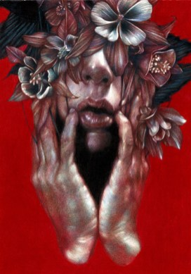 Marco Mazzoni, The Last Day I Was happy, 2014 colored pencils on paper, cm 30x21