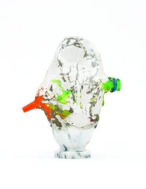 Van Der - Francesca Ferreri, Eterocronie, 2014, gesso, pigmenti oggetti trovati