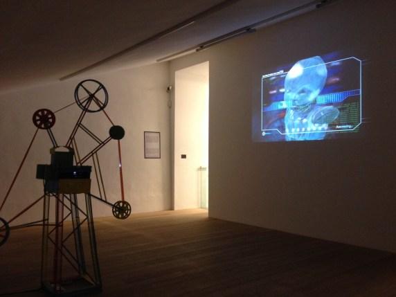 Marco Bolognesi, Sendai City, 2014, veduta dell'allestimento, Merano Arte