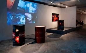 Paola Risoli, SITEMOTION, 2014, veduta d'installazione, MAMAC, Nice, Courtesy Gagliardi Art System, Torino
