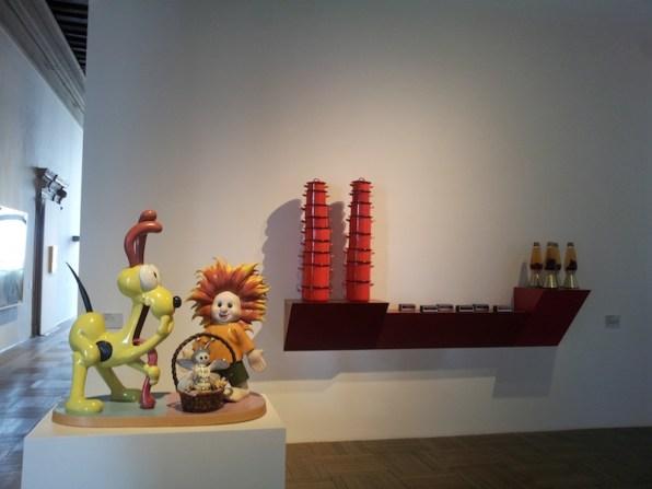 Da Rauschenberg a Jeff Koons. Lo sguardo di Ileana Sonnabend, 2014-2015, veduta allestimento, Ca' Pesaro - Galleria Internazionale d'Arte Moderna Fondazione Musei Civici di Venezia