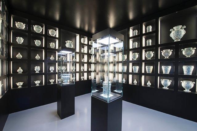 Museo della Ceramica, Savona Sala 10 La farmacia dell'antico Ospedale San Paolo di Savona, 1666, foto: Fulvio Rosso
