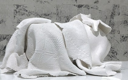 Elena El Asmar, Dispensar pensieri in tempo, 2011, materiali mistici, dimensioni variabili, particolare