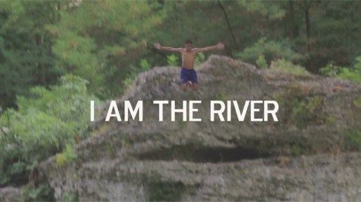 Ilir Kaso, I am the river, 2013, video