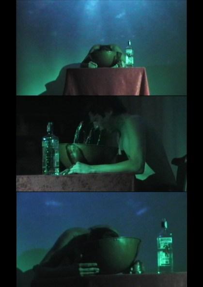 Gildo Bavcevic, Utopia, 2011, frammenti della performance, DV PAL color, 14'33''