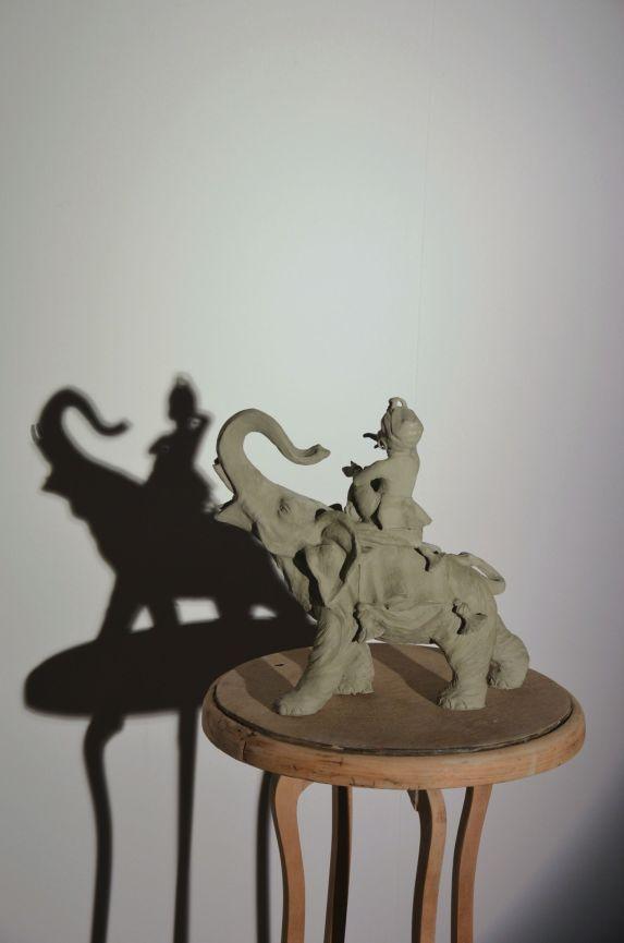 Marco Gobbi, Copy with original shadow, 2014