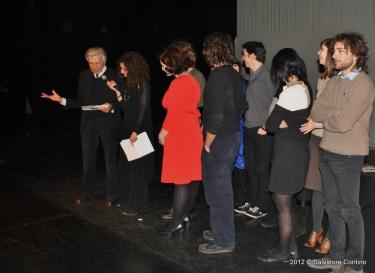 Premiazione, Premio Pasolini Monteverde, 2012