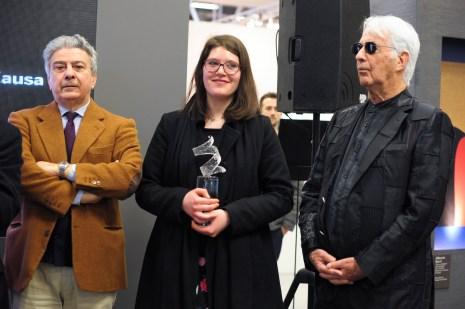 EUROMOBIL UNDER 30 PRIZE, consegna del premio a Alessia Xausa
