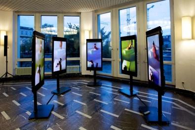 Michael Sailstorfer, Akt 1-5, Premio Artisti per Frescobaldi 2014, Shinkel Pavilion, Berlino