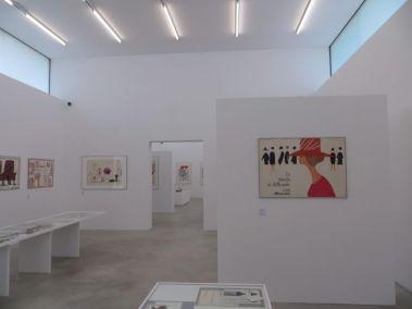 Veduta allestimento mostra Lora Lamm, maggio 2013, m.a.x.museo Chiasso