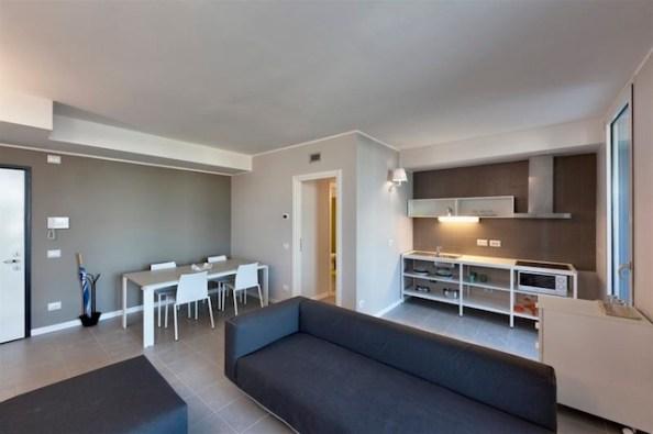 EuroMilano, Appartamento tipo del Villaggio Expo, Cascina Merlata, Milano
