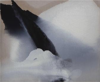 Vasco Bendini, 10 gennaio 2012, olio su tela, 90x110 cm