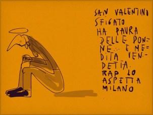Chiara Rapaccini, Amori sfigati, san valentino