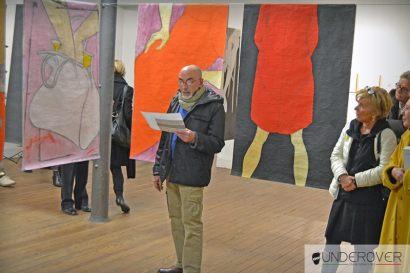 Tiziana Fusari. Retrospettiva, veduta della mostra da Il Fondaco, Bra
