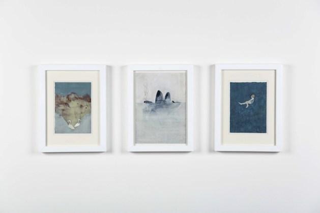 Elisa Bertaglia, dalla serie Bluebirds #2, 2014, tecnica mista, dimensioni variabili Foto di Andrea Sartori