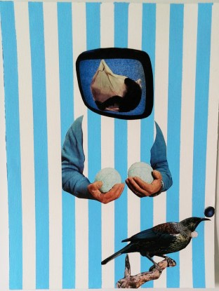 Matteo Sanna, Future Reflections_2015_Collage_30 x 40 cm