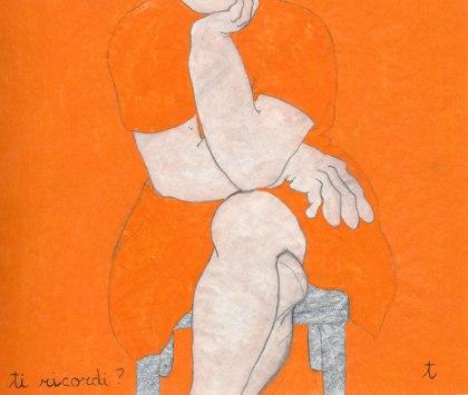 Tiziana Fusari, ABBECEDARIO 2006 libro d'artista 26 pagine tecnica mista su cartamodello gessata cm 16x22