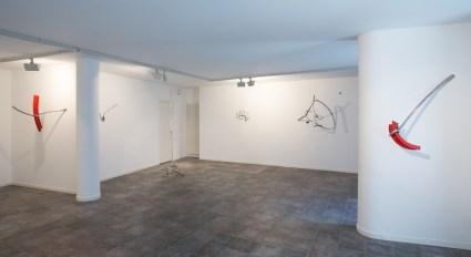 Eduard Habicher. Will kommen, Galleria Melesi, Lecco (veduta della mostra)