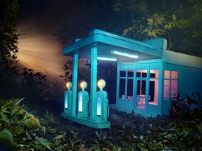 David LaChapelle, Gas 76, 2012 Chromogenic Print © David LaChapelle