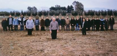 Massimo Bartolini, My Fourth homage, 2003, stampa lambda montata su alluminio, 126x262 cm Foto Paolo Vandrasch