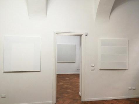 Gianfranco Zappettini. Opere Anni '70, veduta della mostra, E3 arte contemporanea, Brescia