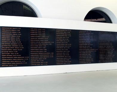 Flavio Favelli, Gli Angeli Degli Eroi, Museo MAXXI, Roma