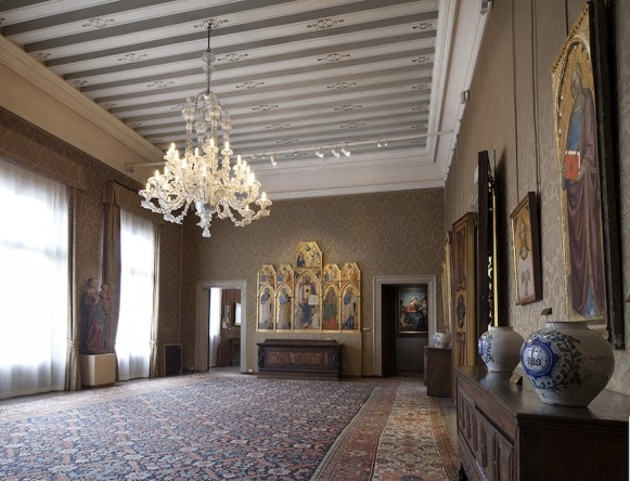 Palazzo Cini, Panoramica degli interni Foto Matteo de Fina2