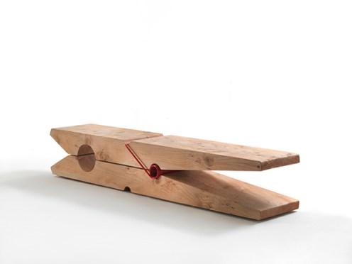 Baldessari e Baldessari, Panca Molletta per Riva 1920, legno di cedro