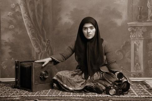 Shadi Ghadirian, Qajar #19