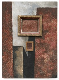Martin Wong, Untitled (with brick in brick), 1988 Courtesy Galerie Buchloz, Berlin/Cologne Pinault Collection