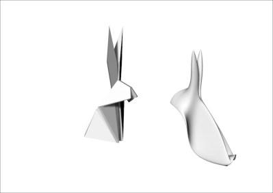"""Conigli per """"Origami Evolution"""" di Corinna Natalia Balloni e Carlo Alberto Gasparini"""